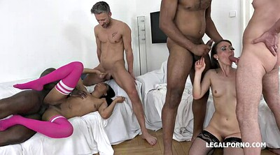 Double penetration, Double anal, Double anal gangbang