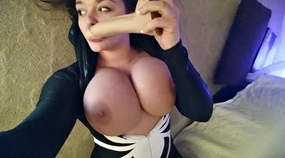 Cosplay, Deepthroat, Deep dildo