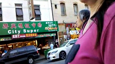 Chinese granny, Bus, Chinese voyeur, Chinese milf, Asian granny, Chinese bus