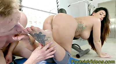 Toes, Teen masturbation, Lick feet, Ass lick
