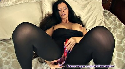 Mature solo, Big dildo