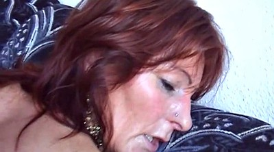 Younger, Redhead milf