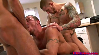 Muscle, Caught, Two, Hard gangbang