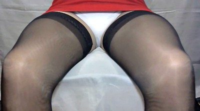 Crossdressing, Stock, Crossdresser pantyhose