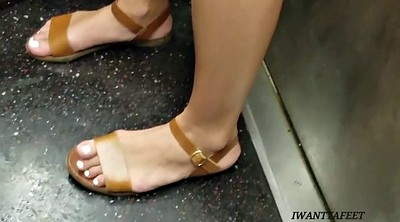 Candid ass, Fetish, Feet