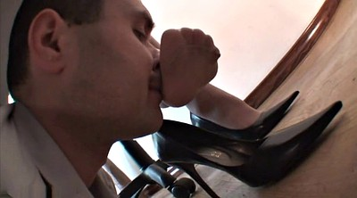 Nylon, Nylon feet, Office foot, Sexy feet, Foot worship