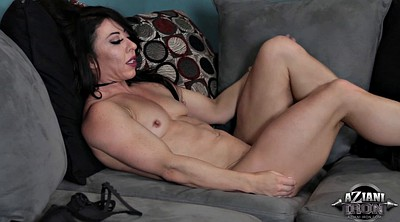Milf solo fingering, Muscle, Solo milf, Mature small tits