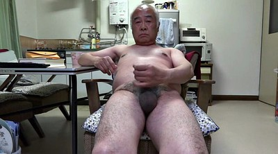 Old man, Granny masturbation, Asian granny, Touch, Nipples, Asian old man