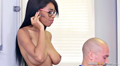 Phone, Teen black, Brittney white, On the phone
