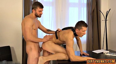 Double penetration, Muscled