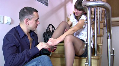Foot job, Pantyhose fuck, Foot job, Fuck pantyhose, Pantyhose fetish, Feet licking