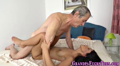 Old man, Granny creampie, Teen old man