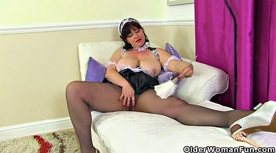 Hairy, Mature pantyhose, Hairy mature masturbation