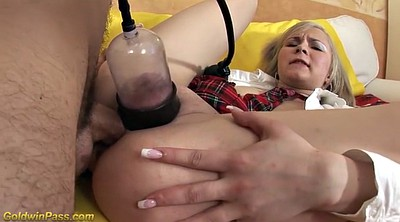 Deepthroat, Gagging, Analized, Pump, Anal toy