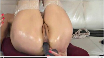 Stocking mature, Russian mature, Mature anal dildo