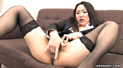 Stockings, Secretary, Japanese solo, Japanese office, Japanese stocking, Asian solo