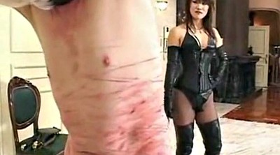 Whipping femdom, Whipping, Mistress, Mistress slave, Asian femdom