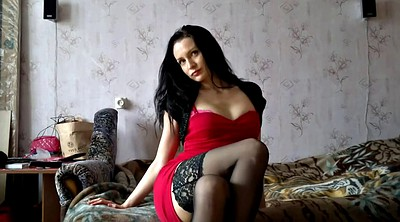 Stockings, Russian beauty