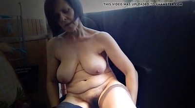 Flashing, Saggy tits, Saggy, Mature hairy