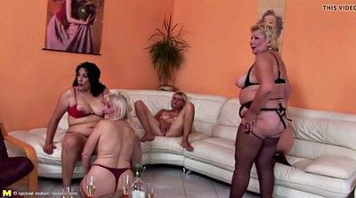 Peeing, Group piss, Old y, Mature piss, Granny group, Sex granny