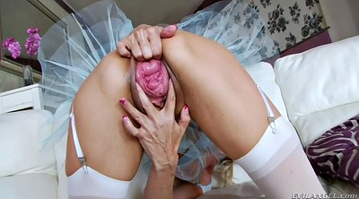 Close up, Russian mature, Prolapse, Russian lesbian