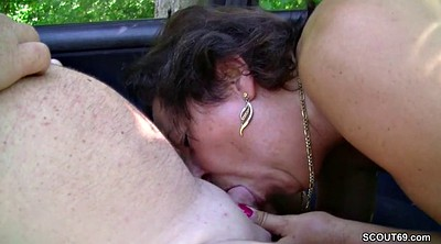 Outdoor, Hardcore mature, German milf