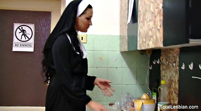Czech, Nuns, Food, Lesbian stockings