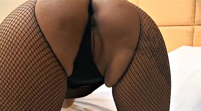 Fishnet, Close up, Asian milk