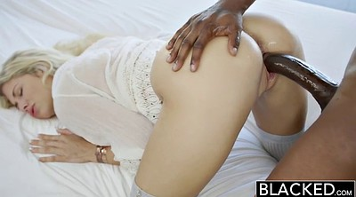 Squirting, Model, Blacked, Black on blondes
