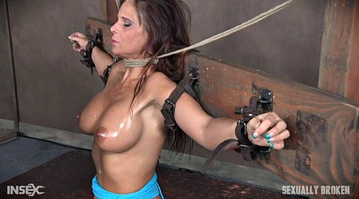 Tied tits, Oil up
