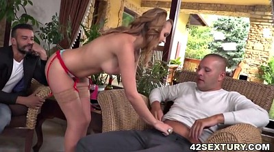 Wife double penetration, Wife anal