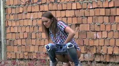 Pissing, Compilation tits, Pissing public, Femdom piss