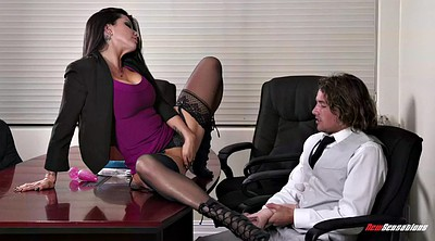 Young, Romi rain, Panty, Licking, Romi rain milf, Office boss