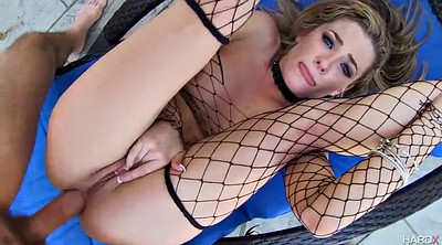 Big, Cumshots, Stockings anal, Outdoors, Cum anal, Anal stockings