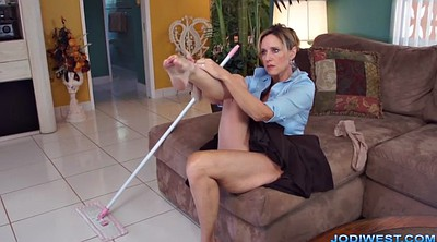 Jodi west, Hot mom, Jodi, Handjob mom