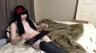 Femboy, Teen shemale, Teen cute, Small cock, Chat
