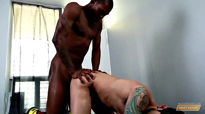 Blacked, Interracial, The gym