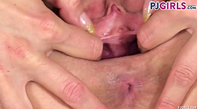 Gaping, Pussy spreading, Pussy gape, Gaping pussy