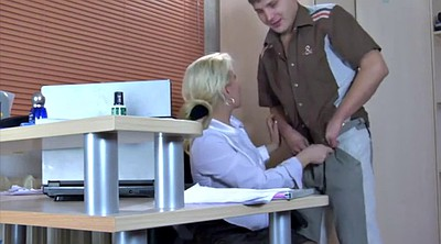 Russian mature, Naughty office