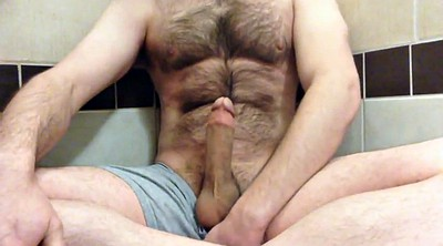 Hairy, Shower, Hairy masturbation