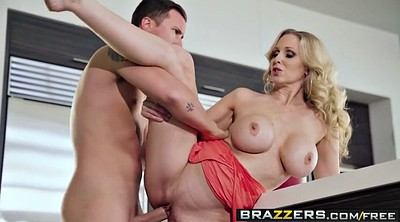 Julia ann, Ann, Mommy, Big boobs, Anal hook, Bra