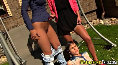 Lesbian group, Outdoors