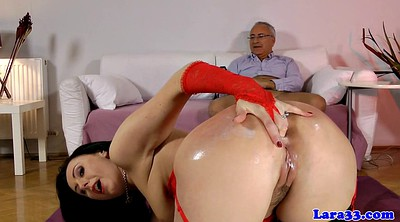 Mature anal, Ebony stockings