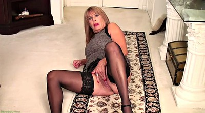 Solo milf, Striptease, Mom solo, Matures, Stockings solo, Blonde stockings