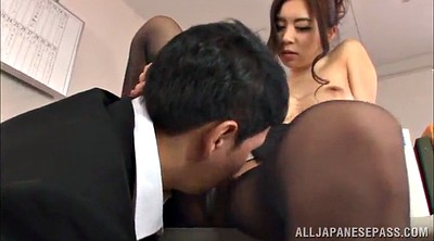 Pantyhose handjob, Skirt, Asian pantyhose