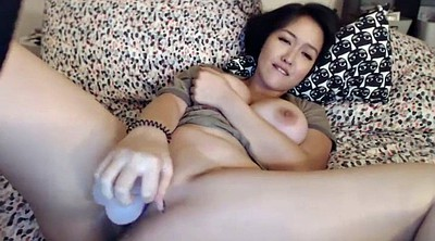 Webcam anal, Asian solo