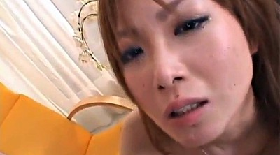 Redhead, Cum in mouth, Asian blowjob