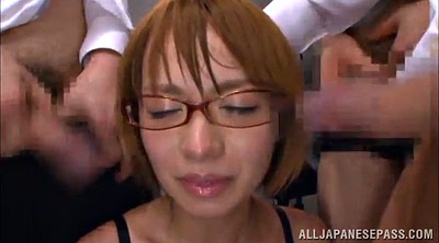 Asian office, Asian gangbang