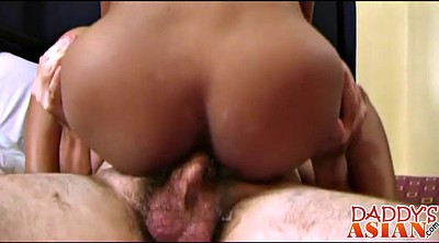 Asian ass, Daddy fuck, Big ass asian