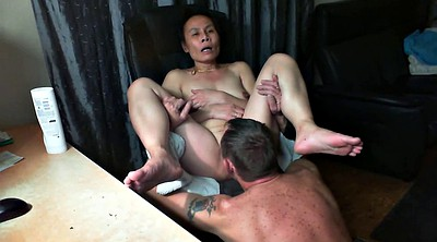 Asian wife, Wife orgasm